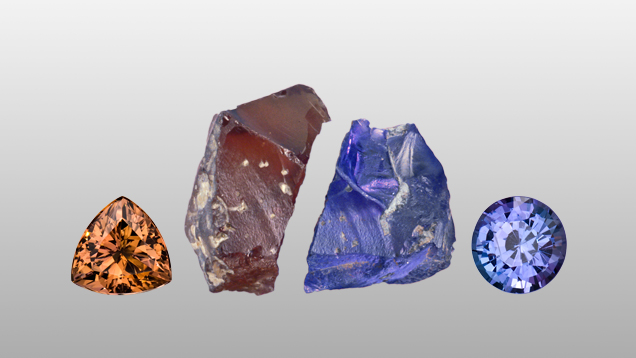 heat treatment heating tanzanite zoisite