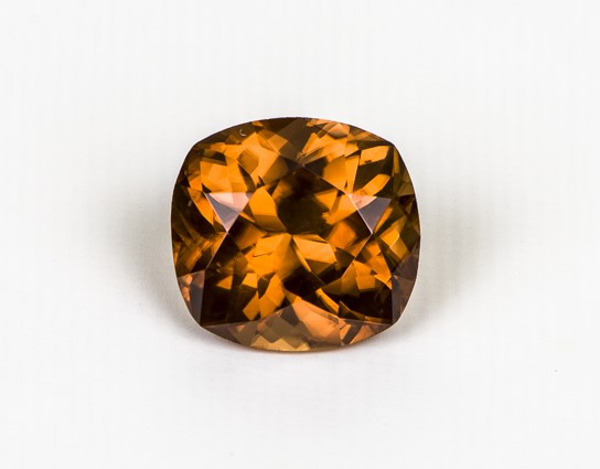 Zircon - fine natural gemstone